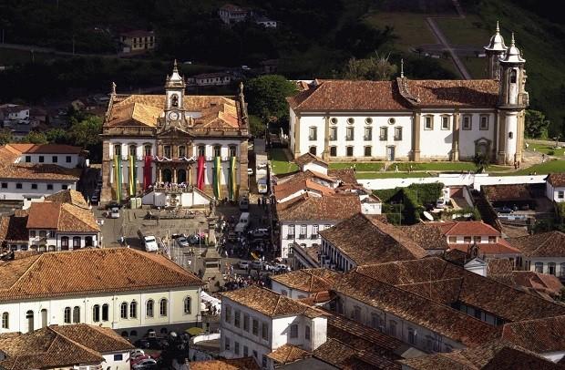 Centro Histórico de Ouro Preto, um dos palcos da Inconfidência Mineira