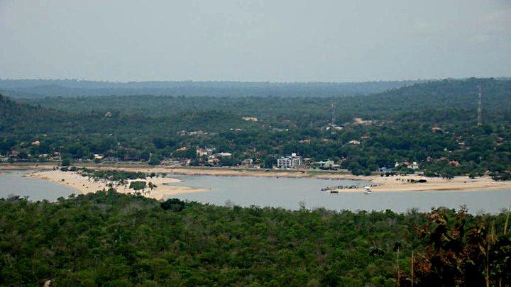 Alter do Chão vista do alto do Morro da Piroca - www.muitaviagem.com.br
