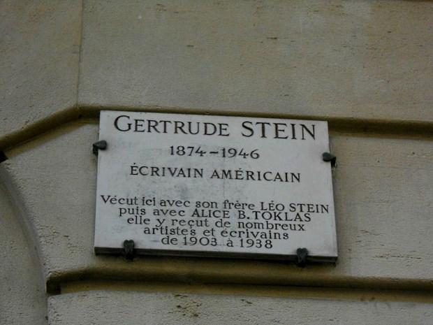 A escritora Gertrude Stein definiu a Geração Perdida de Paris (foto: Marina Kuzuyabu)