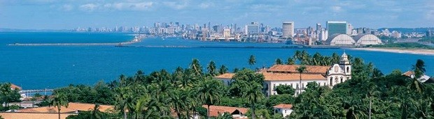 Vista da Sé, no Centro Histórico de Olinda