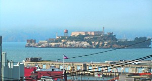 A ilha de Alcatraz, em São Francisco, na Califórnia