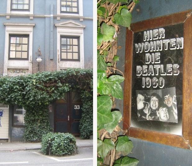 O prédio onde moraram os Beatles e a placa na porta