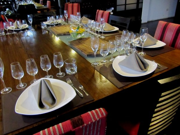 Além da degustação, é uma boa loja para comprar vinhos em Buenos Aires