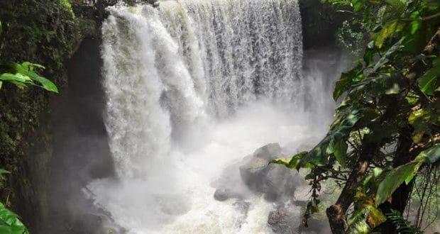 A Cachoeira da Fumaça, no Jalapão, já no primeiro dia do roteiro