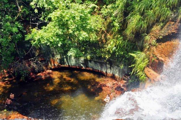 A incrível Cachoeira do Lajeado