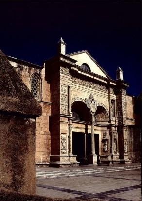 A Catedral de Santa Mariá de la Encarnación, a primeira da América,
