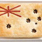 A Austrália, terra do festival, é lembrada pela torta de carne