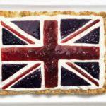 Muitas geleias para formar a bandeira britânica