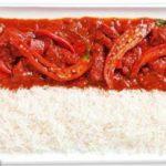 A Indonésia é representada por arroz e pimentas