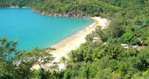 Praia do Jabaquara, em Ilhabela-SP