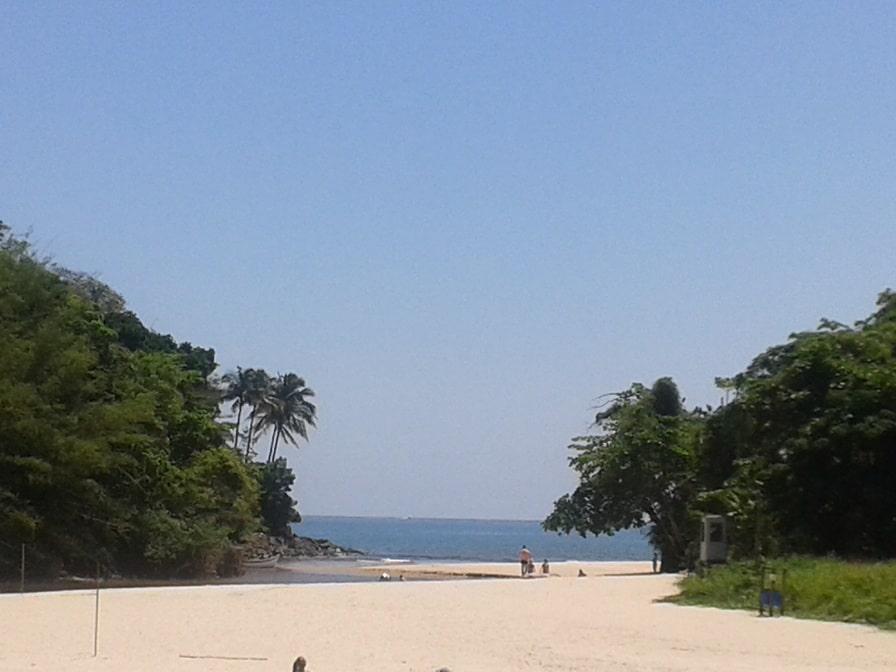 A Barra do Sahy é uma praia boa para crianças no litoral norte