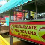 Onde comer em Vitória? Restaurantes na Ilha das Caieiras, vá de táxi, e de dia!