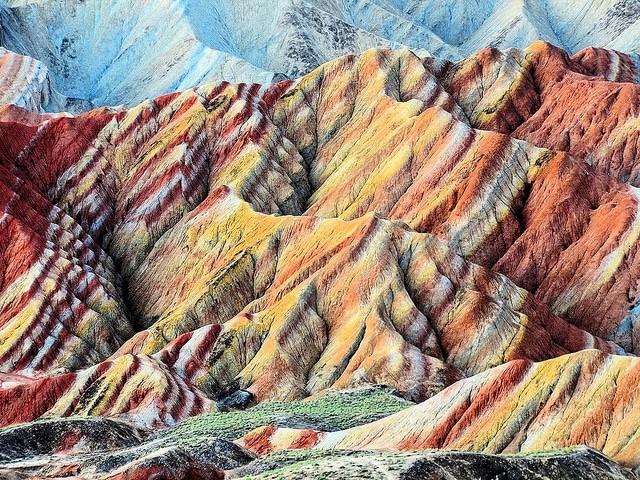 lugares mais bonitos do mundo montanhas chinesa