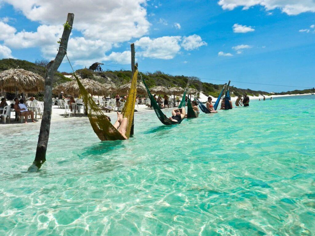 A Lagoa do Paraíso é uma das atrações de Jeri - foto - Wandering Trader