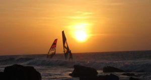 Os velejadores fazem parte do cenário - foto: Felipe Felippe