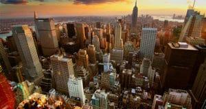 Pôr do Sol em Nova York. | Foto - Jerry Ferguson