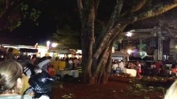 O Carnaval de Tiradentes-MG acontece no Largo das Forras, em torno de figueiras centenárias