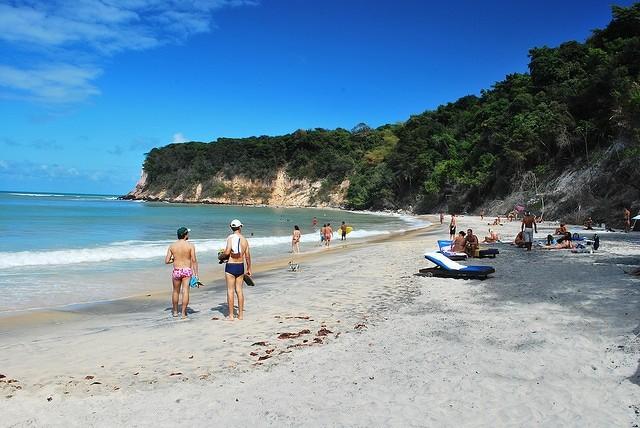 Praia do Madero, em Pipa, a minha preferida - foto: Eder Andrade