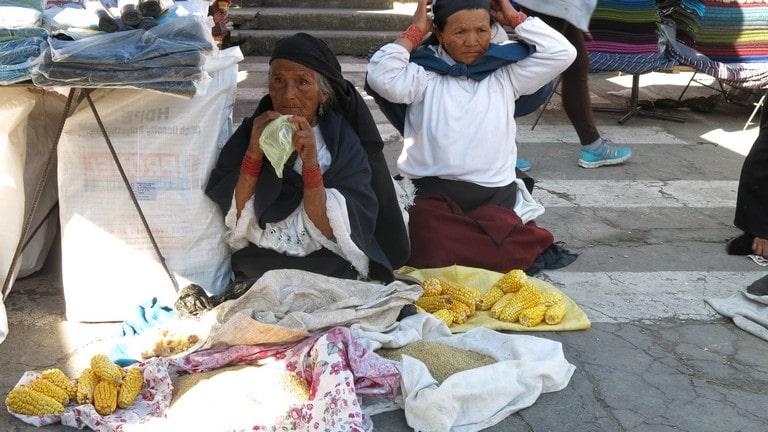 A feira indígena de Otavalo é uma das maiores do mundo