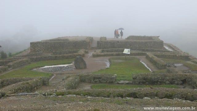 Neblina, chuva... e de repente o tempo melhorou!