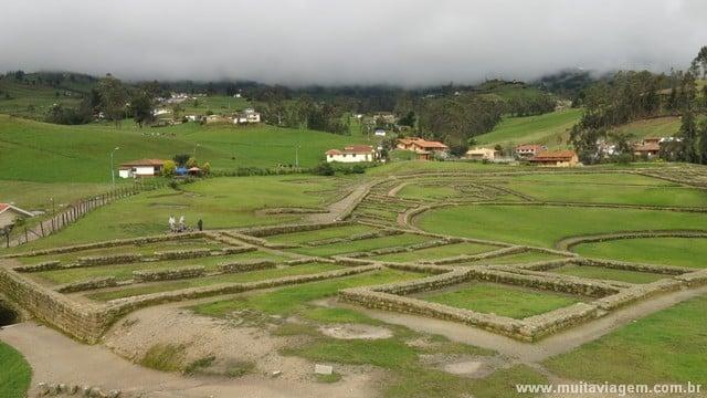 Ingapirca era um lugar cerimonial, sem população fixa
