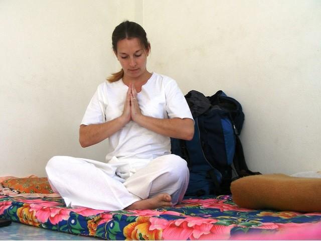 Viagem para meditação na Tailândia