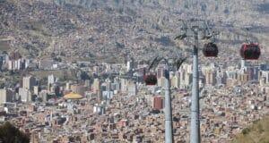 Em algum lugar de La Paz está o lendário Ruta 36
