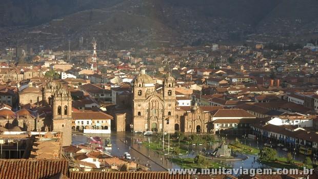 A Plaza de Armas de Cusco é o coração do centro histórico de Cusco