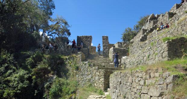 Spoiler alert! Este é o Portão do Sol em Machu Picchu