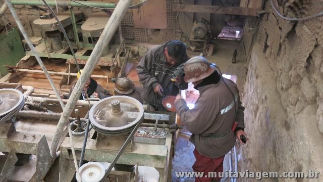 As refinarias de prata são assustadoras