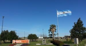 Aeroporto de Rosário, na Argentina. | Foto: MV