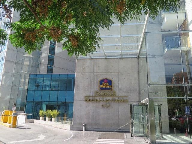 Hotel bom e barato em Santiago, Chile.