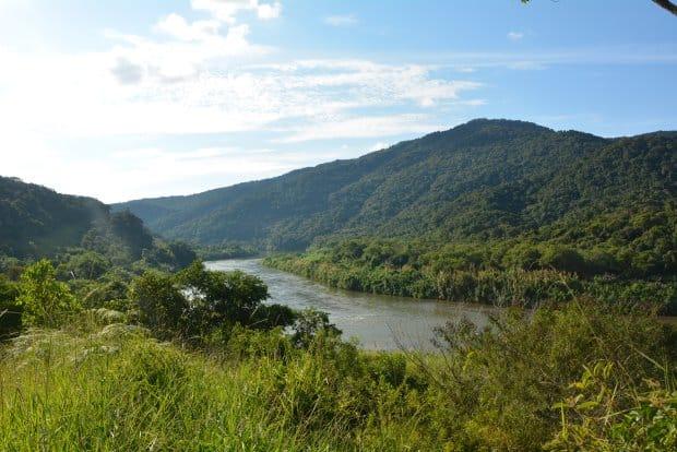 A bela região foi protegida por comunidades tradicionais