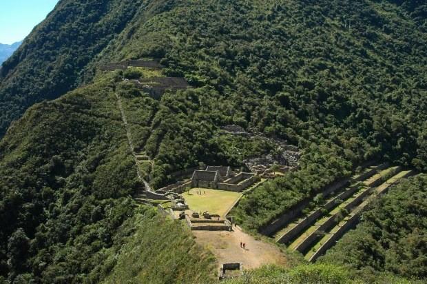 choquechirao foto ruina civilizacao inca