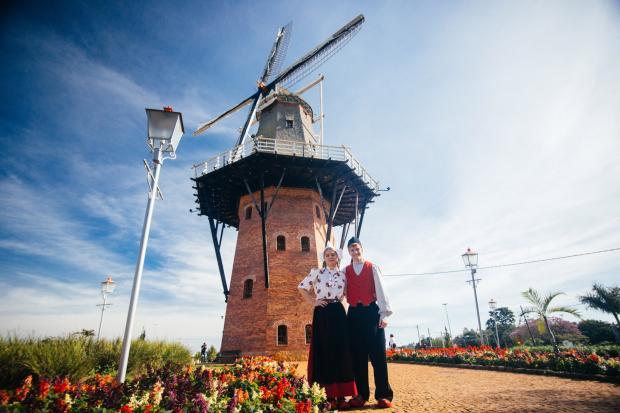 Holambra, a Cidade das Flores, tem grande influência holandesa - Foto: Divulgação