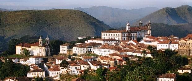 A cidade turística de Ouro Preto é uma viagem pela história