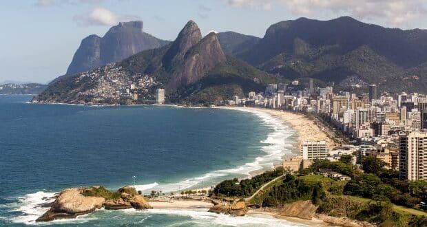 A praia de Ipanema da Cidade Maravilhosa vista do alto - foto: Divulgacão