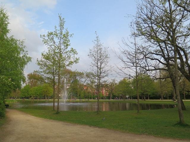 Onde ficar perto do Vondelpark