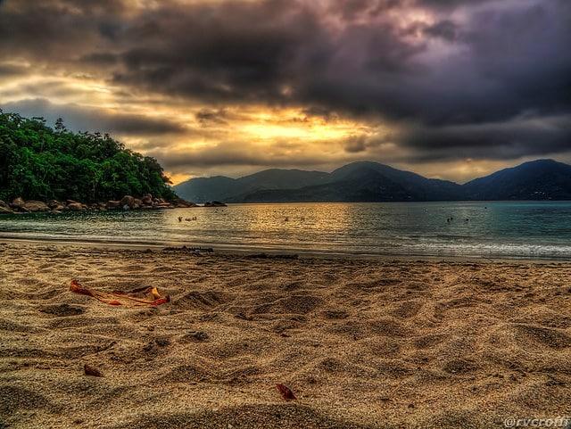 Domingas Dias é uma das praias mais família de Ubatuba