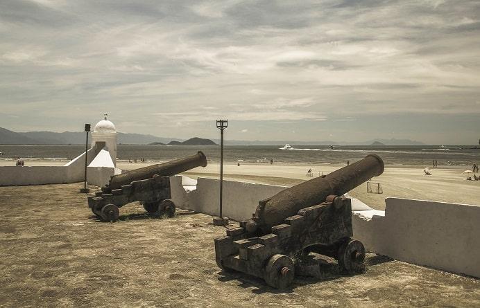 Forte de São João, em Bertioga | Foto: Luiz Coelho