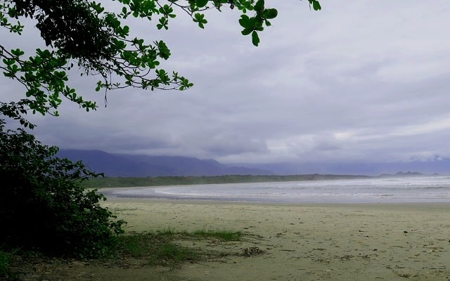 Praia Itaguare - Bertioga
