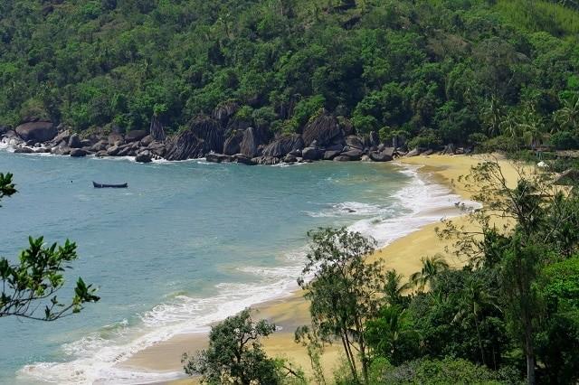 A Praia do Jabaquara é uma das mais bonitas do Brasil.