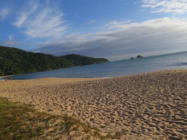 Praia em SP