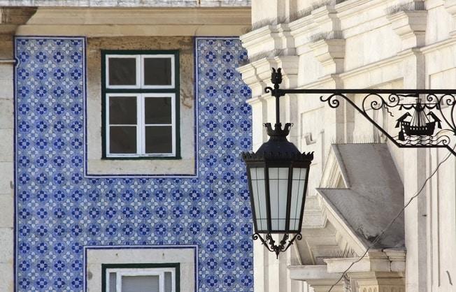 O bairro Chiado, em Lisboa - Portugal