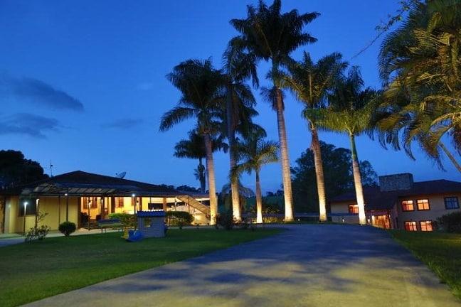 O hotel fazenda Horizonte Belo, em Brumadinho