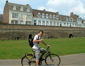 em 2007... primeira vez na Europa.