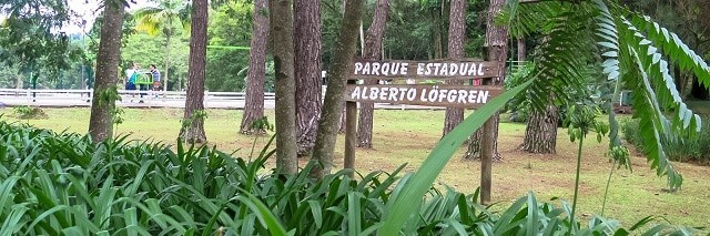 O parque fica aberto diariamente das 8h às 18h