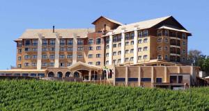 O Hotel & Spa do Vinho, Autograph Collection, no Vale dos Vinhedos, no RS, é um dos destinos de inverno - Divulgação