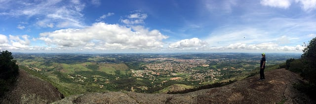 Mirante da Pedra Grande, em Atibaia. | Foto: Ana Paula Hirama