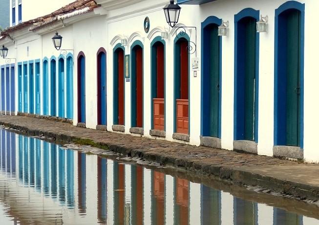 Cidade histórica de Paraty.